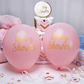 Ballon Baby Shower Pink