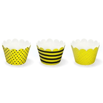 CupCake Cups Mix Bi, 6 stk