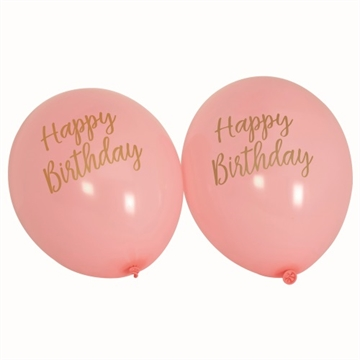 "Ballon ""Happy Birthday"" Pink"