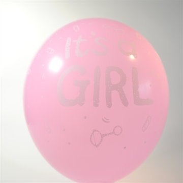 "Ballon ""It´s a Girl"" 6 stk"