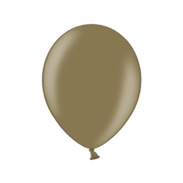 Latex Ballon Metallic Cappucino