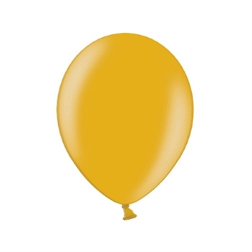Latex Ballon Metallic Guld
