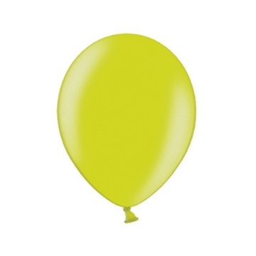 Latex Ballon Metallic Lime