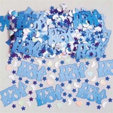 Konfetti Baby Shower IT`S A BOY