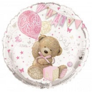 Folie Ballon BABY Girl, 48 cm