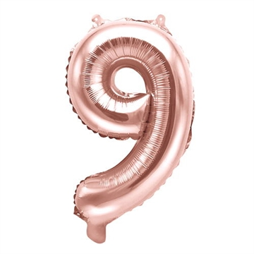 Folie Ballon Tal (9) Rose Gold 35 cm